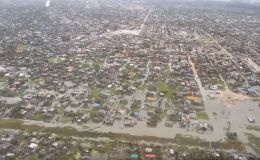 Aerial footage shows Cyclone Idai devastation in Mozambique